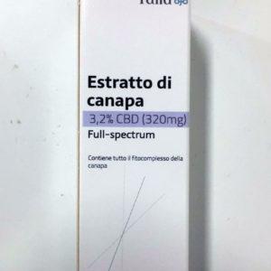 Olio CBD full spectrum 3,2% Como