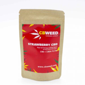 Strawberry cannabis light alto CBD