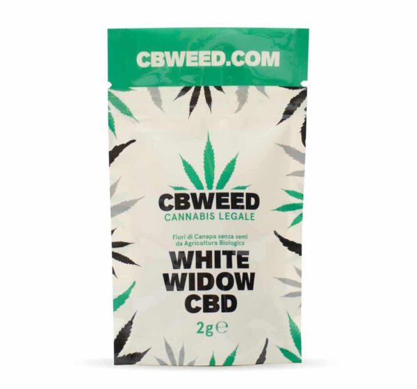 White widow cannabis light alto CBD