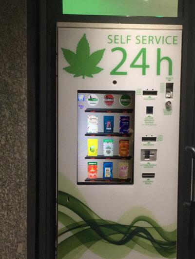 distributore 24 h cannabis light Como